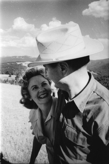 Bob and Ann Staffanson in the West they loved. Despite a distinguished partnership in classical music, homesickness for Montana brought them back to the mountains and plains.