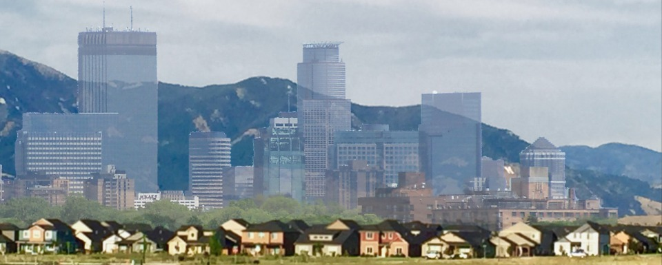 Bozemanapolis? The Minneapolis skyline set against the Bridgers. At current growth rates, Bozeman/Gallatin Valley will be Salt Lake City sized in a generation and Minneapolis sized in 40 years.
