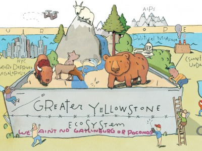 The view of the world from Greater Yellowstone by Rick Peterson