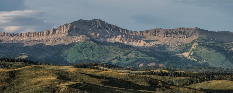 The Gros Ventre Range, photo courtesy  US Forest Service