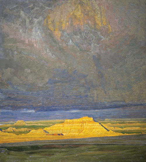 """The Tempest"", Carlson's take on the badlands of South Dakota"