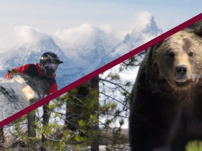 "Still images taken from  Jackson Hole Travel & Tourism Board's YouTube video ""Jackson Hole Winter 2017-18 : Stay Wild""."