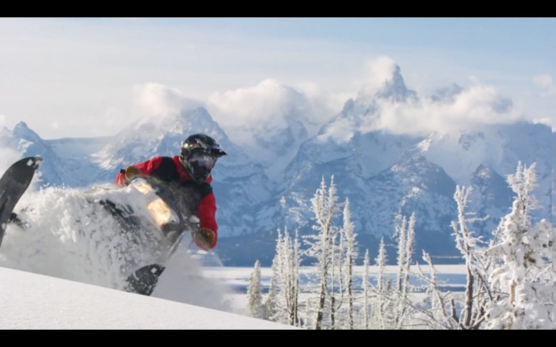 "Still image taken from  Jackson Hole Travel & Tourism Board's YouTube video ""Jackson Hole Winter 2017-18 : Stay Wild""."