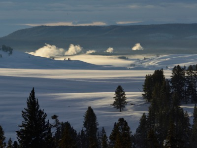 For Yellowstone winterkeeper Steven Fuller, Hayden Valley is his favorite place on earth. Photo by Steven Fuller