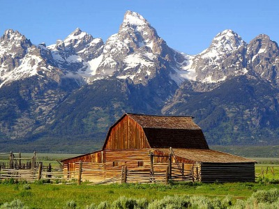 Moulton Barn in Grand Teton National Park, Photo courtesy National Park Service