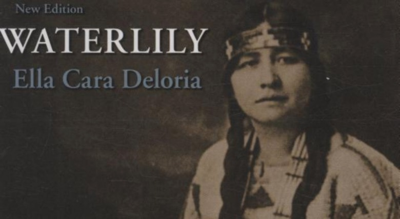 The cover of Ellen Cara Deloria's posthumously-published book, Waterlily.