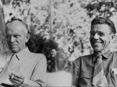Aldo Leopold and Olaus Murie