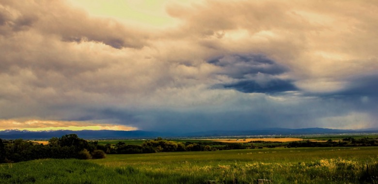 The pastoral Gallatin Valley is coming under unprecedented development pressure. Photo courtesy FutureWest/Alice Buckley