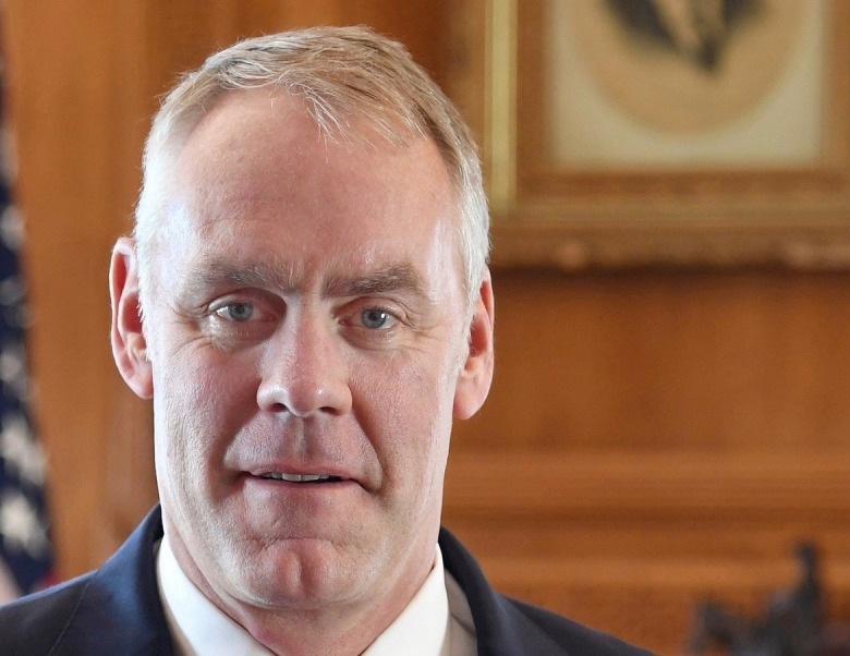 Interior Secretary Ryan Zinke Photo courtesy U.S. Department of the Interior