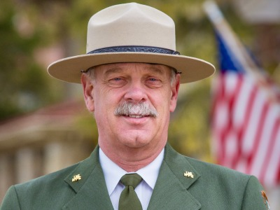 Yellowstone Superintendent Dan Wenke