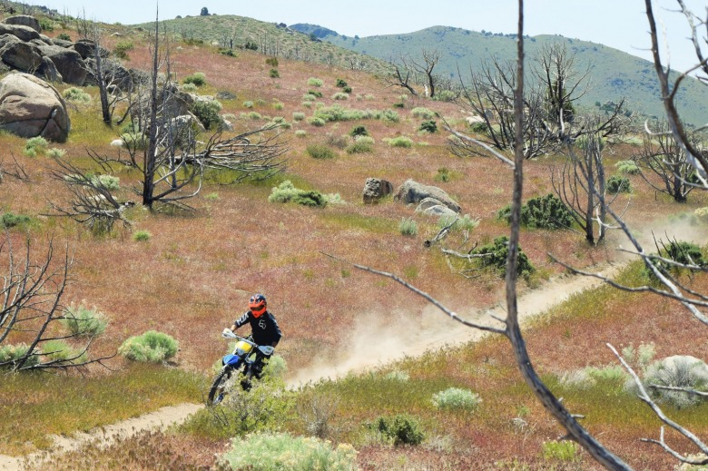 Motorcycles, ATVs and mountain bikes are prohibited in federal wilderness and the few areas still pristine enough to remain candidates for wilderness. Photo courtesy BLM