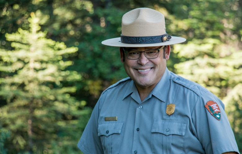 Grand Teton National Park Superintendent David Vela Photo courtesy NPS