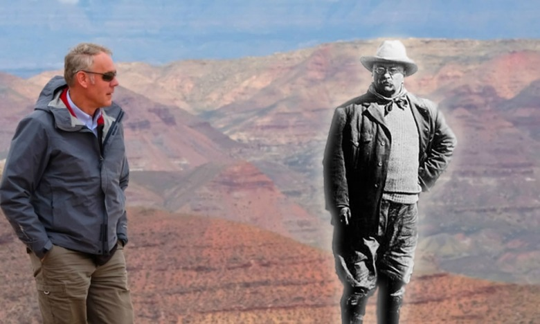Seeing a ghost? After Interior Secretary Ryan Zinke and President Trump went to Utah and radically scaled back the size of Bears Ears and Grand Staircase-Escalante national monuments, Zinke continued to claim that TR remained a guiding light in his thinking about conservation. Historians say the monument action instead would make Roosevelt roll in his grave.