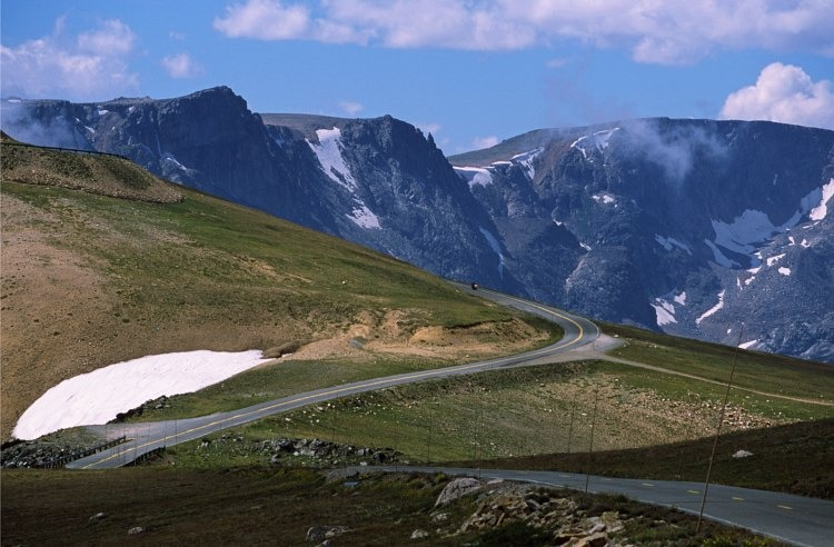 The Beartooth Highway.  Photo courtesy Wikimedia commons