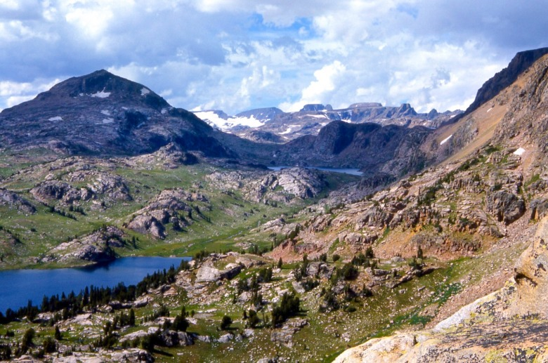The Absaroka-Beartooth Wilderness.  Photo courtesy Wikimedia Commons