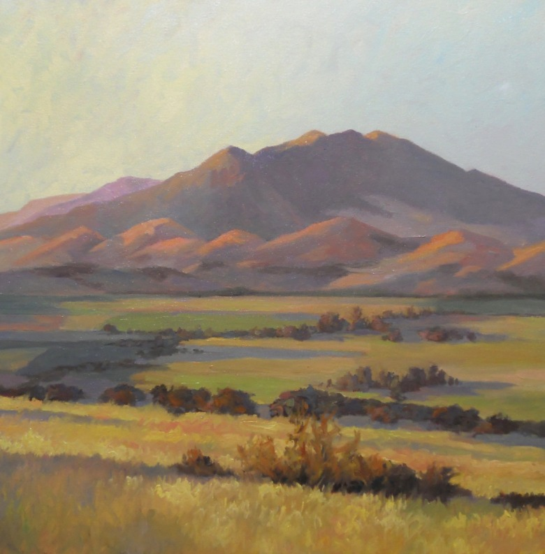 """Bridger Mountains—Story Hills"" by Bruce Park (https://www.bruceparkarts.com)"
