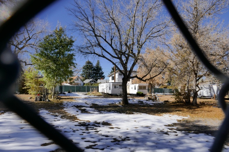 """Soon this trailer park will have completely disappeared and along with it those on limited income who knew it as one of the increasingly rare places they could afford if they wanted to live in Bozeman,"" Crawford says. ""Pricey condos will rise in their place that may generate more tax revenue but what's the value of the people they're replacing?""  Photo by Tim Crawford"