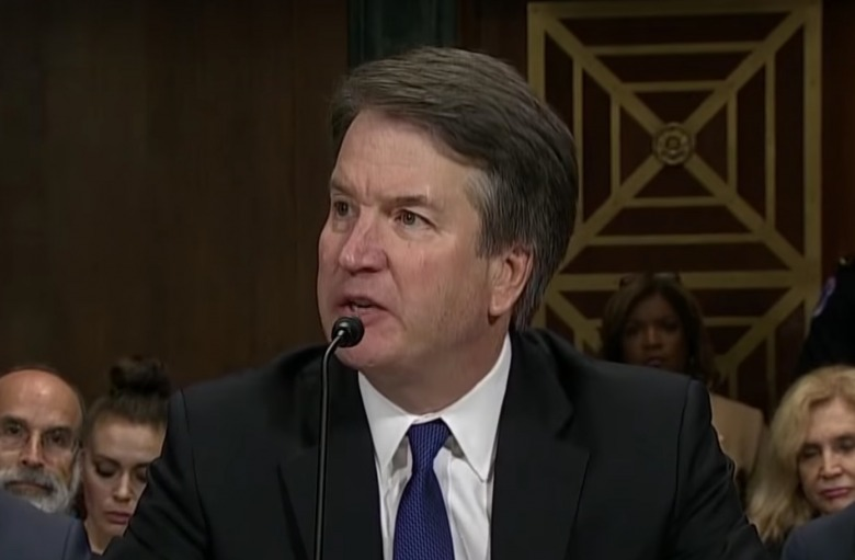 Newly confirmed U.S. Supreme Court Justice Brett Kavanaugh