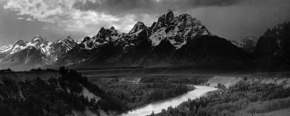 Ansel Adams' tribute to The Snake