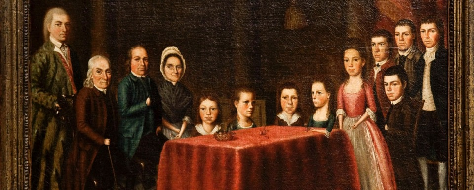 The Savage Family - by Edward Savage (1779)
