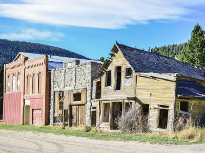 Marysville, Montana, a ghost town