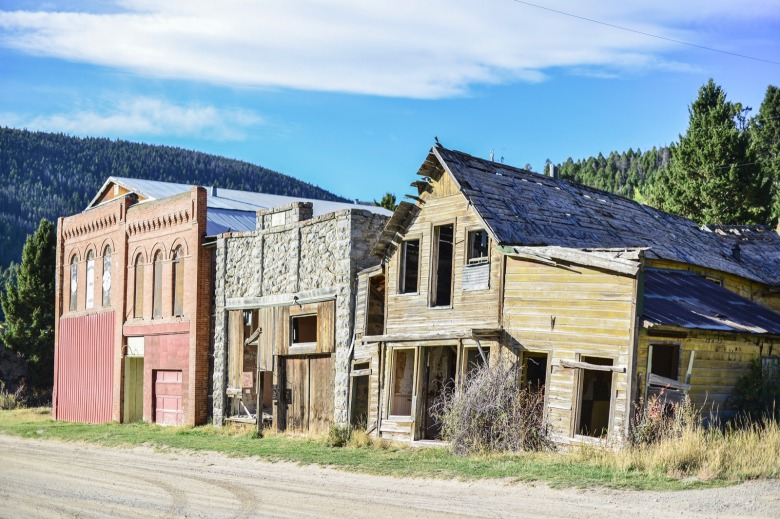 Marysville, a mining ghost town in Montana. Photo courtesy U.S. Air Force/Tech. Sgt. Chad Thompson