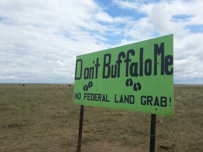 A sign of unrest on the prairie?