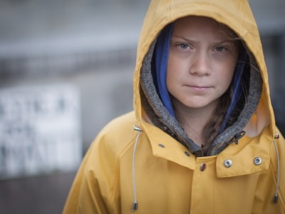 Teenage climate change activist Greta Thunberg