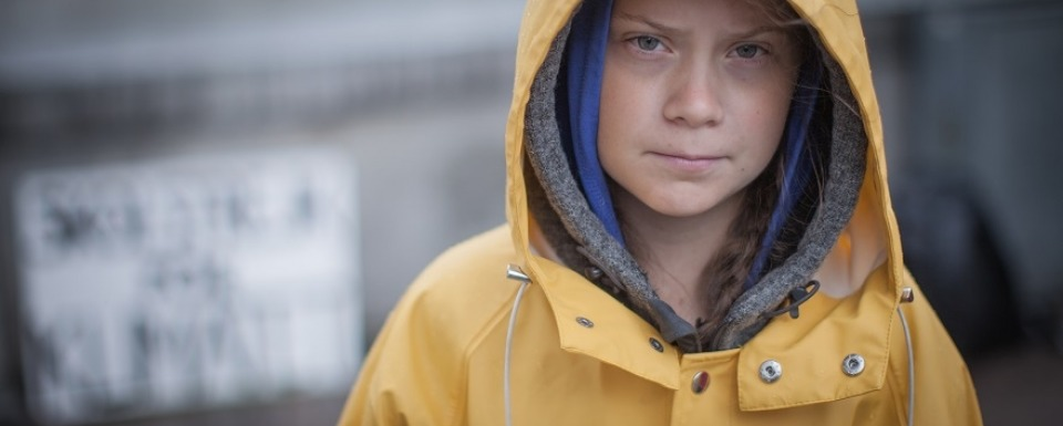Greta Thunberg is worried about her future
