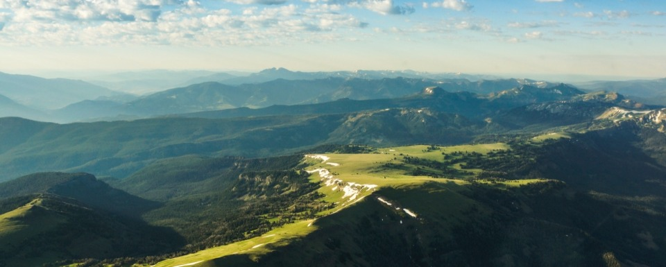 The still-wild Gallatin Mountains