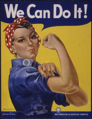If Rosie the Riveter could inspire positive social action among the Greatest Generation, Crawford asks, what's holding us back?