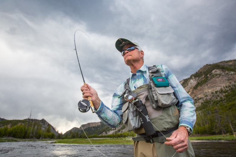 River protector and legendary fly fisherman Craig Mathews say conservation benefits communities, economies and personal lifestyles. It only makes sense that business people should act on their conscience and dedicate part of their profits to environmental protection. Photo courtesy NPS