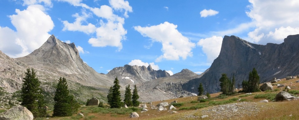 The Bridger Wilderness in Wyoming