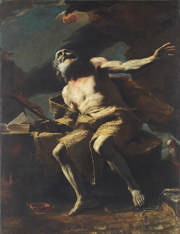 St. Paul the Hermit by Mattia Preti