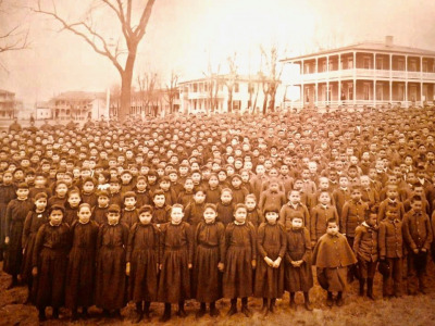 The notorious Carlisle Indian Industrial School