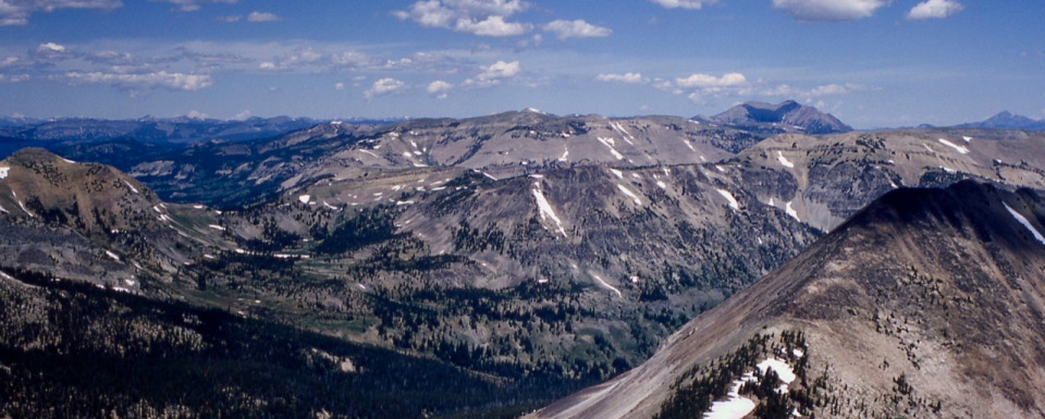 Mountains in the heart of Greater Yellowstone