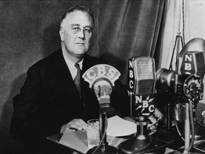 How would FDR address nation about coronavirus?
