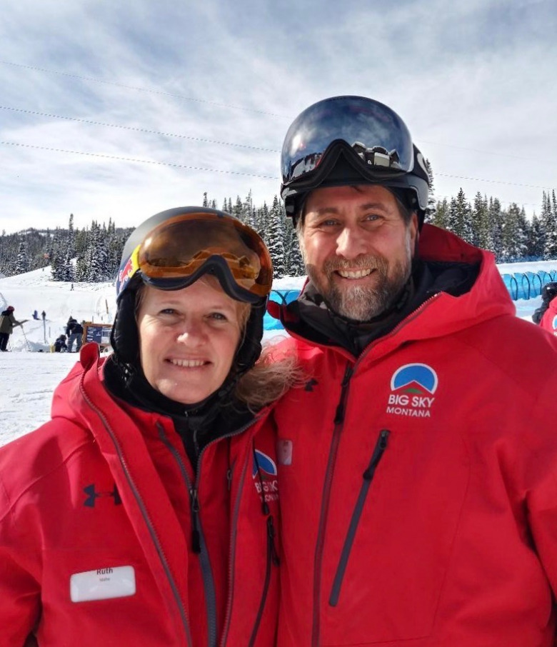 Survivor Ken Scott and his wife, Ruth, at Big Sky. Photo courtesy Ken Scott