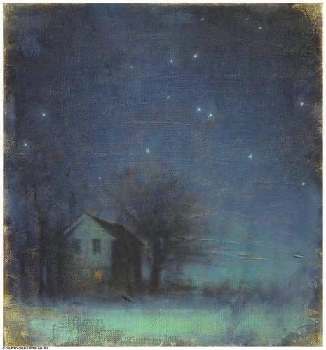 "Giving creates infectious hope. ""Skyfull of Stars,"" a painting by John Felsing"