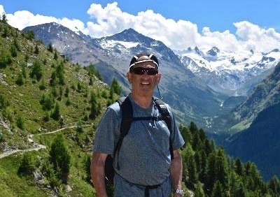 "Robert Aland on a hiking trip to Europe. Although it has spectacular scenery, the mountains of ""the Old World"" don't compare to the wildness that is typified by the animals that still call Greater Yellowstone home and it should be a source for national pride, Aland says"