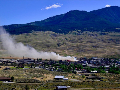 Fire hits Gardiner on Yellowstone's doorstep in July