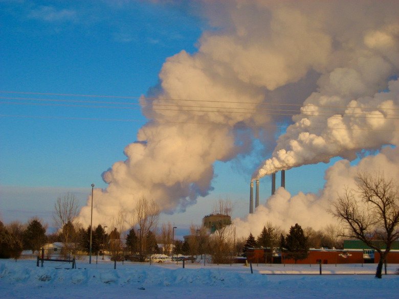 While coal-fired power plants at Colstrip in Montana once represented prosperity for generations of the 20th century, younger generations already are thinking well beyond viewing the burning of fossil fuels as the cause of problems that represent a major threat to their lives in the future. Photo courtesy Rachel Cernansky
