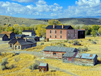 Bannack, Montana now a ghost town
