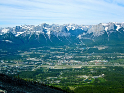 Canmore, Alberta could be Bozeman, Big Sky or Jackson, Wyo