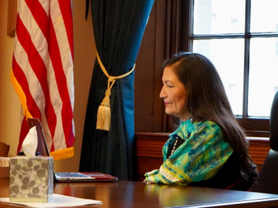 Deb Haaland of New Mexico and Laguna Pueblo