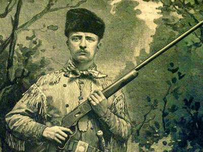 Teddy Roosevelt the young hunter