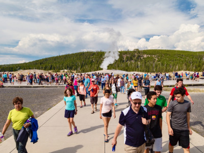 What do we take away from an Old Faithful eruption?